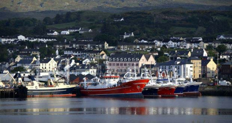 Killybegs fishing port