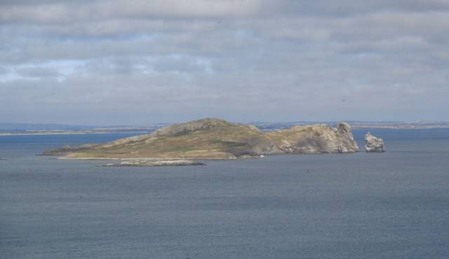 Ireland's Eye off Howth lies just south of the proposed wastewater outfall pipeline