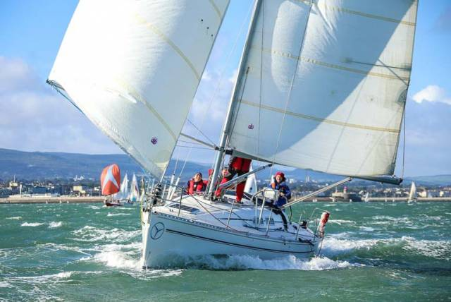 The Kish race on Dublin Bay drew approximately 50 entries last year, and DMYC hopes to better this entry on Sunday
