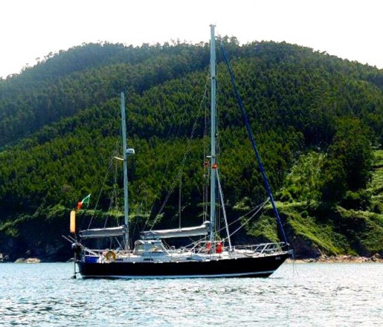 The dream in fulfillment – the ketch Danu in the Caribbean