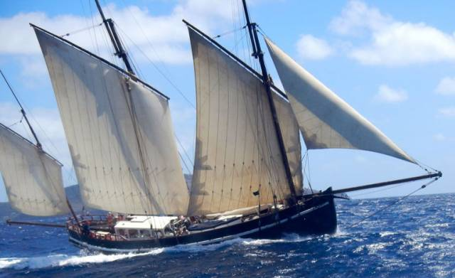 Irish Craft Beer Delivered on Cornish Lugger from Cork to France
