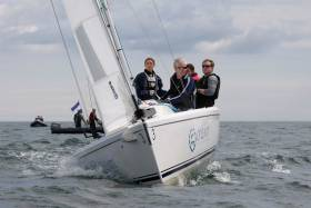 Laura Dillon sailing in Ireland