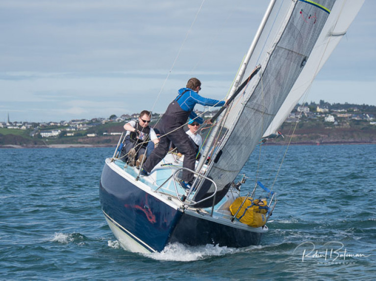 Racing in the first week of the AIB Autumn Series