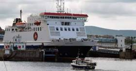 Tynwald, the Manx Parliament makes history as it backs the Isle of Man Steam Packet take-over. Above Afloat adds is the operator's main ferry, the ropax Ben-My-Chree docked in Douglas Harbour.