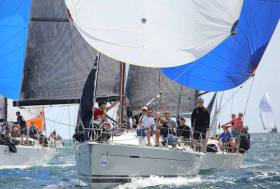 Jay Colville's Forty Licks (East Down YC) will be action on Belfast Lough this July at Bangor Town Regatta