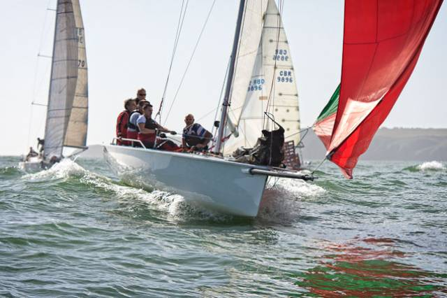 MG335 'Magnet' Wins Naval Race in Cork Harbour