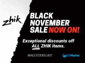 Save On Zhik With CH Marine's Black November Sale