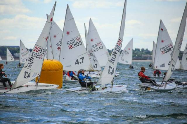 The Laser class has a new sponsor for its Munster Championships in Baltimore
