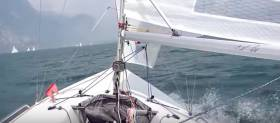SB20 Training at the Royal Irish Yacht Club (Gybe Video Here)