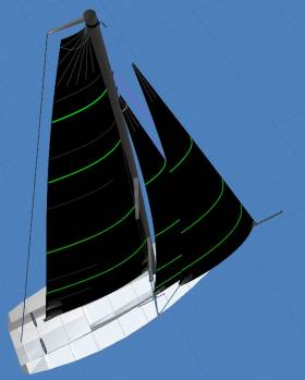 Asymmetric sails have become much more popular in recent years. This article describes the options on going fast downwind
