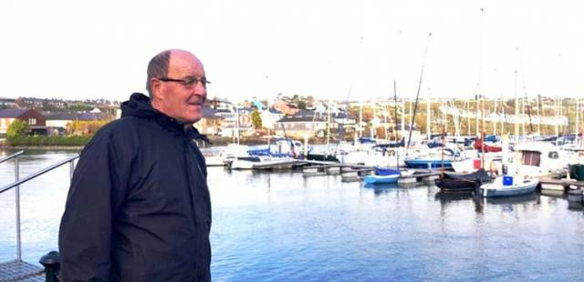 Donal Hickey who organises the Sailability programme at Kinsale Yacht Club
