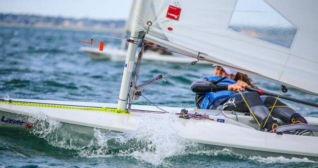 Sally Bell is a member of Royal North of Ireland YC and will turn 18 at the end of September and is Ireland's representative at the Youth Worlds in China