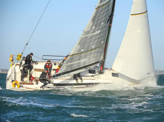 More breeze for race two of the Turkey Shoot on Dublin Bay. Scroll down for photo gallery below