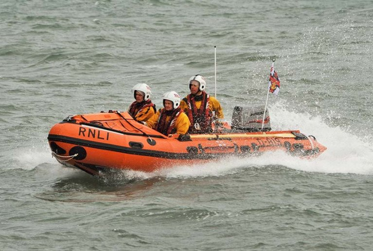 File image of Fethard RNLI's D class inshore lifeboat Naomh Dubhan