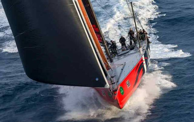 LDV Comanche will take the provisional line honours winner to the protest room