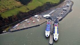 The ferry operator moved to the new £80m terminal of Loch Ryan Port, Cairnryan in 2011