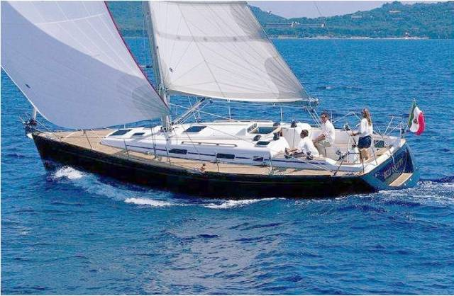 The vision of the Grand Soleil 40 is in fast yet comfortable cruising mode, but in straightforward racing trim she'll give a good account of herself