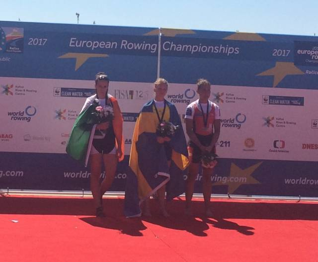 Gold and Silver Medals for Ireland Crews at European Championships