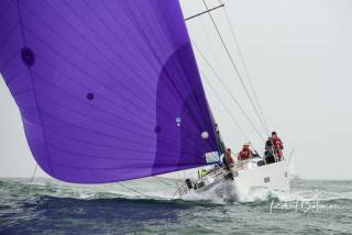 Conor Doyle's Freya in the Kinsale-Monkstown Race, when she completed the course in two hours
