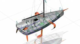 The Beneteau Figaro 3 is a likely canddate as a one design for World Sailing's first Short Handed World Championships