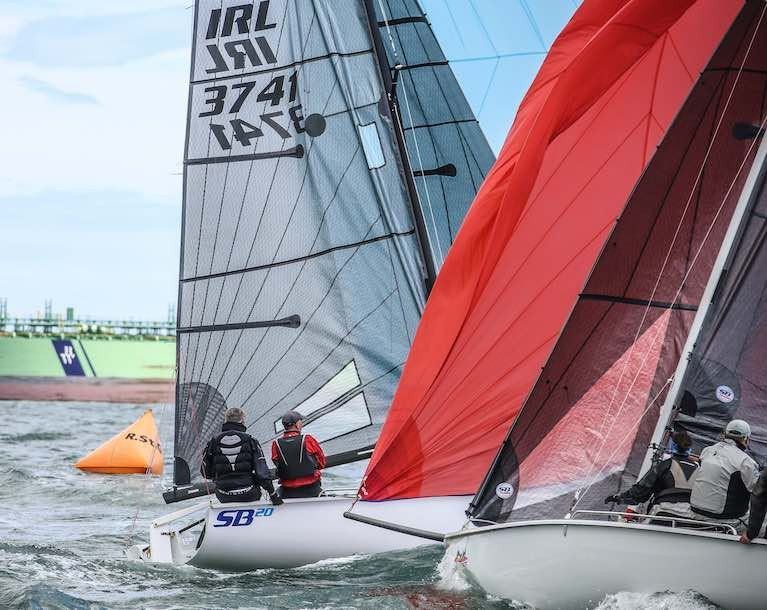 SB20s will race for Western Championships honours at 2021 Volvo Dun Laoghaire Regatta