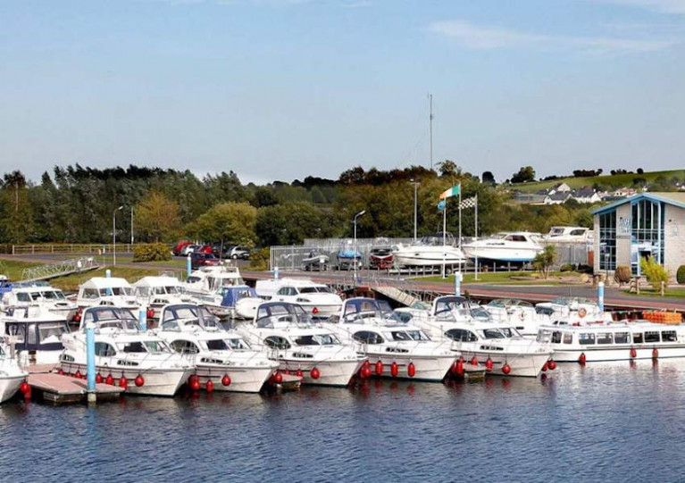 Hire cruisers at Banagher Marina this summer