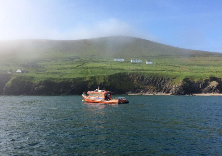 Great Blasket Island off Co Kerry is a popular tourist destination in the summer months
