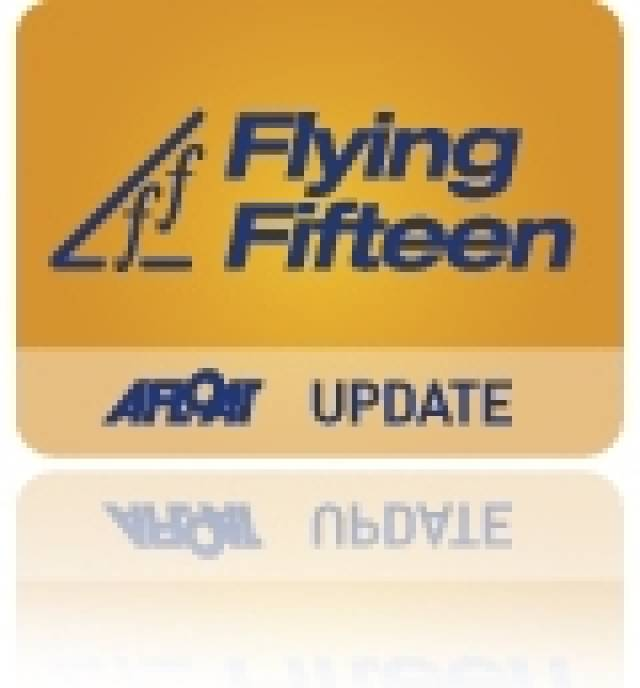 Irish Flying Fifteen Class Publish 2013 Championship Calendar