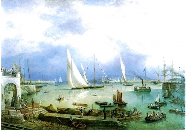 Many of Many Talents – Richard Brydges Beechey's stylish portrayal of the Royal St George YC Regatta of 1871
