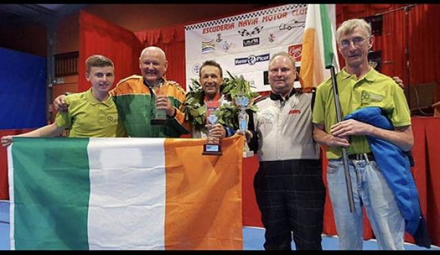 Team Powerboat Ireland celebrate at the UIM World Championships