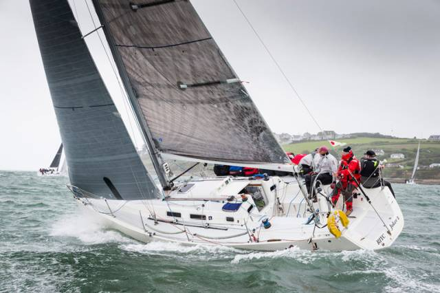 Joker 2 looking very inch the champion (and for the third time at that) in the ICRA Nats at Cork