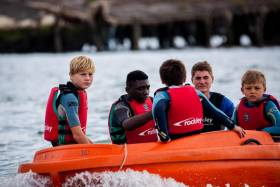 Children will be encouraged to get out on the water at the Southampton International Boat Show next month