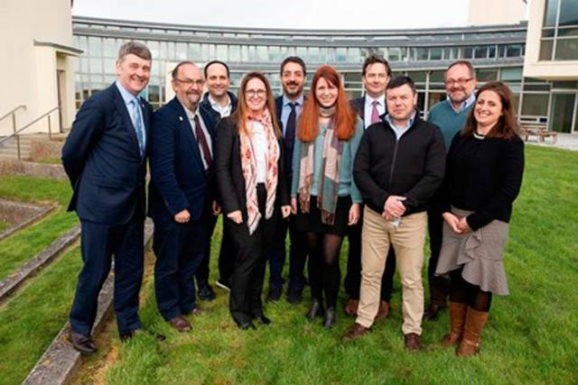 The EurofleetsPlus meeting took place at the Marine Institute in Oranmore