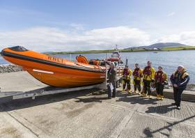 Since the new lifeboat went on service on Sligo Bay in November it has launched four times to call outs