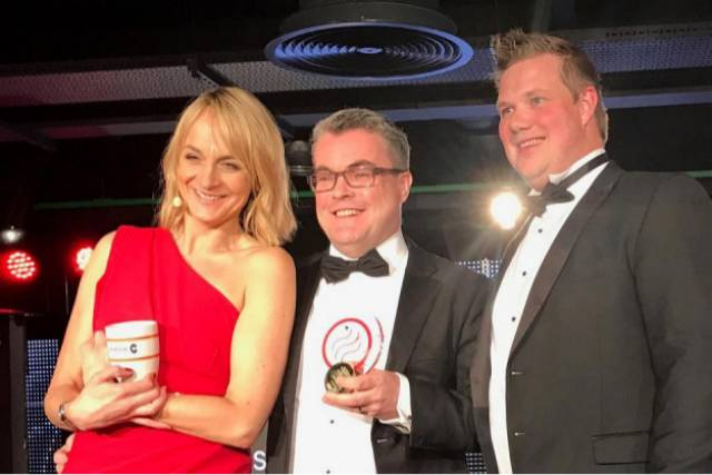 Seatruck won '2017 Business of the Year' at The Mersey Maritime Awards (MMIA) that was held in the new Main Stand of Liverpool Football Club. The event attended by 400 people was hosted by BBC Breakfast T.V. presenter Louise Minchin.