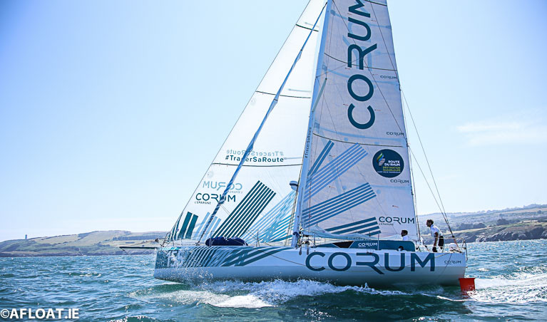 French Class 40 Yachts Eye Round Ireland Race's August Start