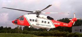 The Sligo-based Irish Coast Guard helicopter Rescue 118 is involved in the search for the missing jetskiier on Lower Lough Erne