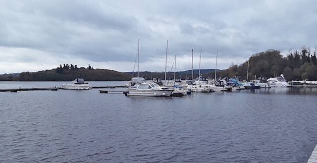 Lough Erne Yacht Club on Gublusk Bay