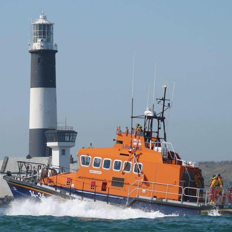 Donaghadee Lifeboat Takes Ill Seaman off Cargo Ship at Mouth of Belfast Lough
