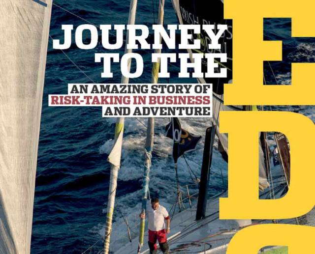 Enda O'Coineen's Belfast Book Launch for 'Journey to the Edge'