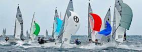 Hanging in there……Ireland's community-minded International GP 14 Class meet for their three-day Irish Nationals at Sligo today. Skerries SC and GP14 Ireland will be hosting the Worlds at Skerries in 2020