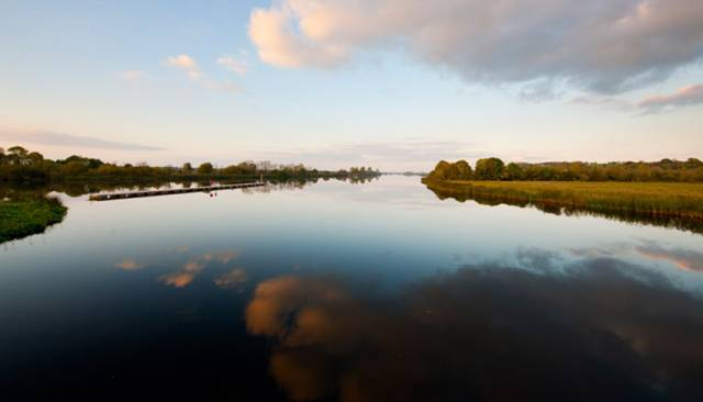 The River Shannon in autumn