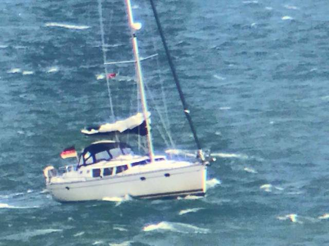 Dun Laoghaire Coast Guard were called to assist a sick sailor off Malahide last Thursday afternoon