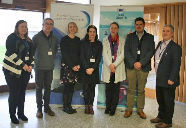 Speakers at yesterday's information session on what Horizon 2020 and blue growth mean for Ireland's marine and maritime sector