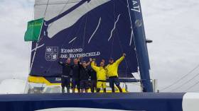The Maxi Edmund De Rothschild, has won multihull line honours in the 48th edition of the Rolex Fastnet Race