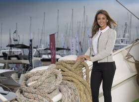 Michelle Keegan at the Southampton Boat Show