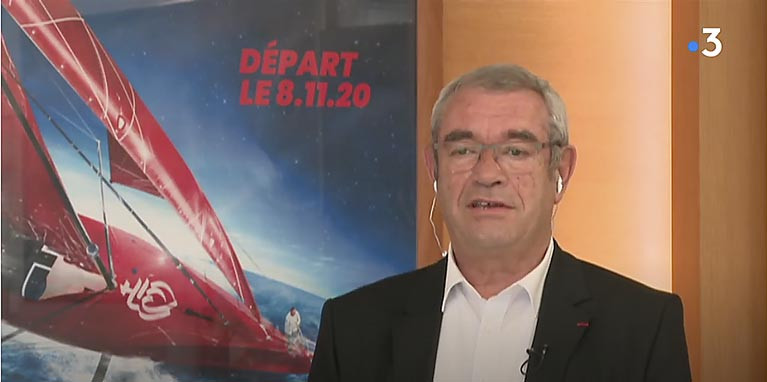 Yves Auvinet, chairman of the SAEM Vendée speaking on France's TV3 on Tuesday