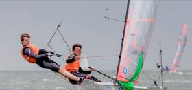 Harry Durcan and Harry Whittaker are UK 29er National Championship winners