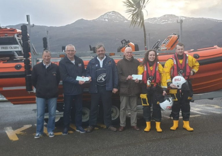 Portree & Kyle Of Lochalsh Lifeboats Receive Generous Donations
