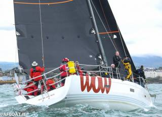 George Sisk's Wow from the Royal Irish Yacht Club was the IRC and ECHO winner of DBSC's Class Zero